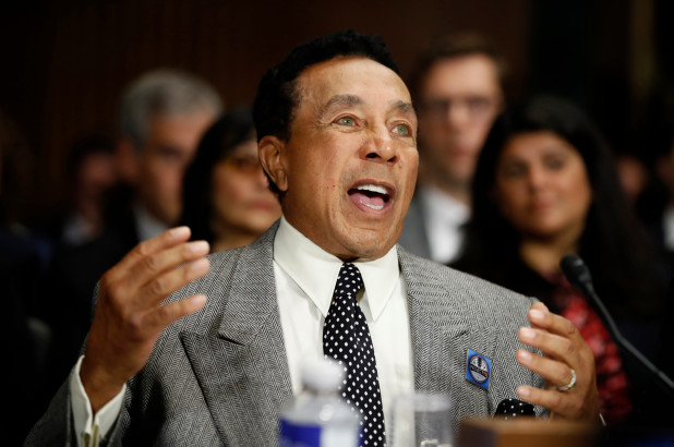 Smokey Robinson testifies before Senate for more streaming royalties