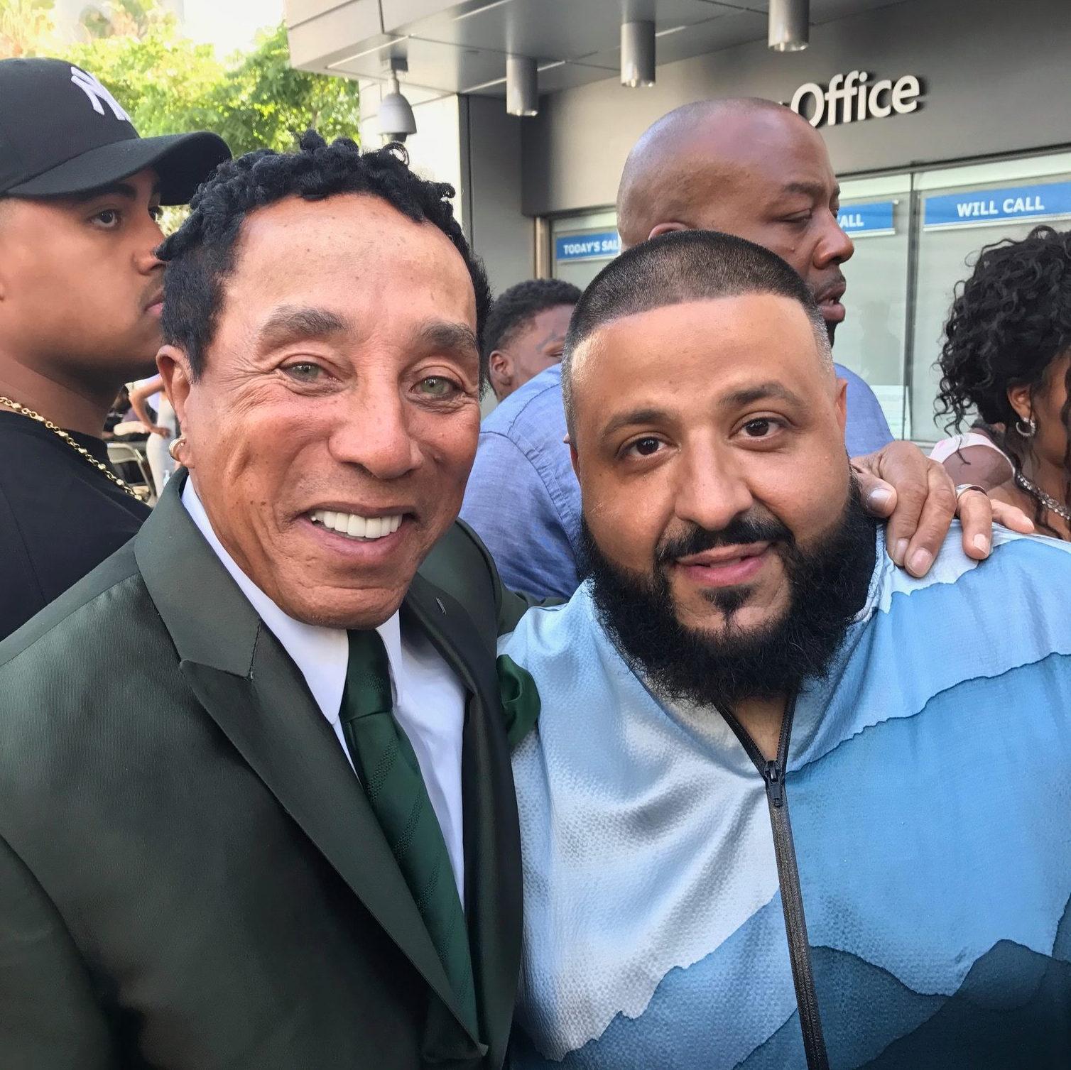 DJ Khalid & Smokey Robinson