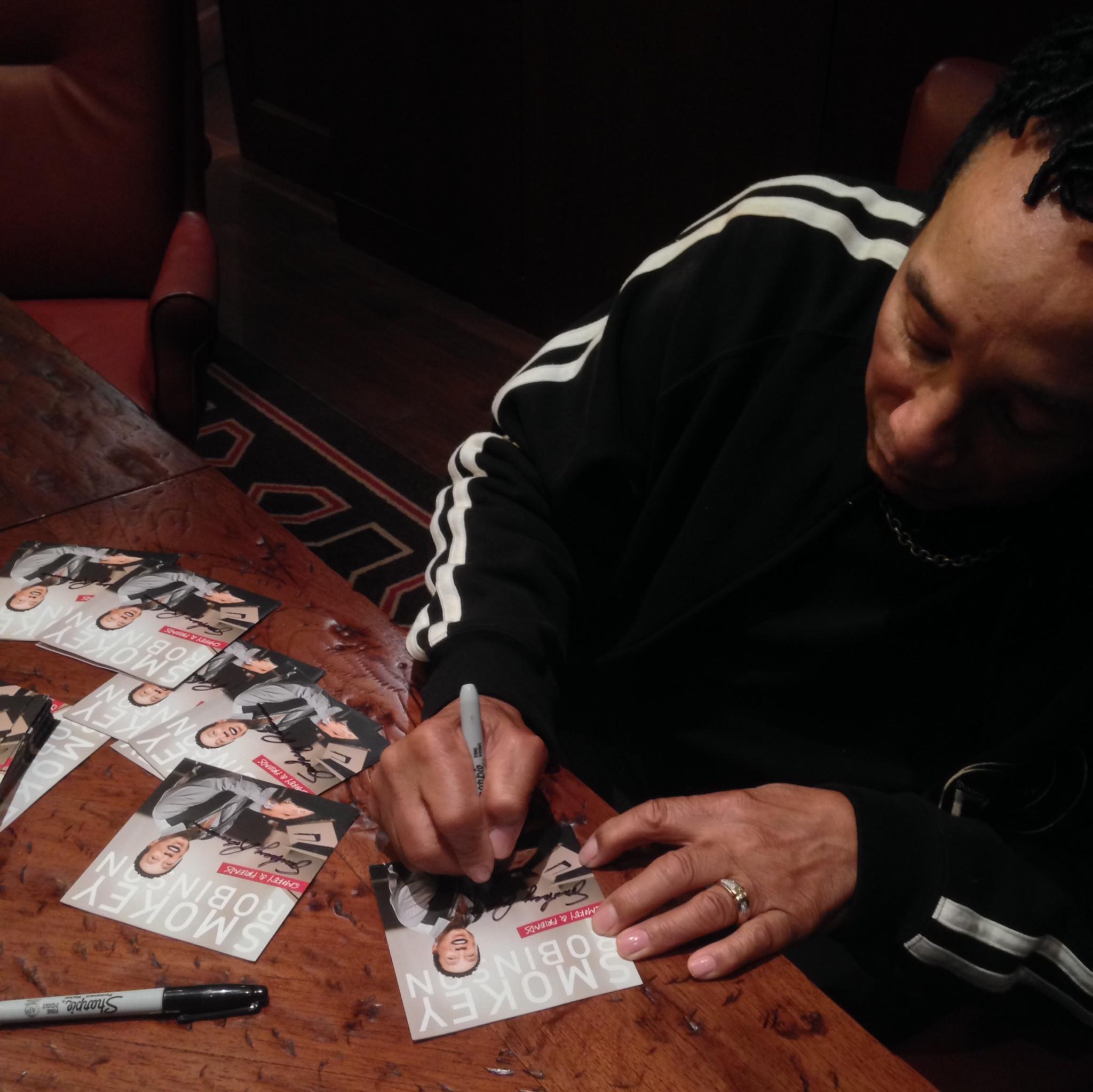 Smokey Signing